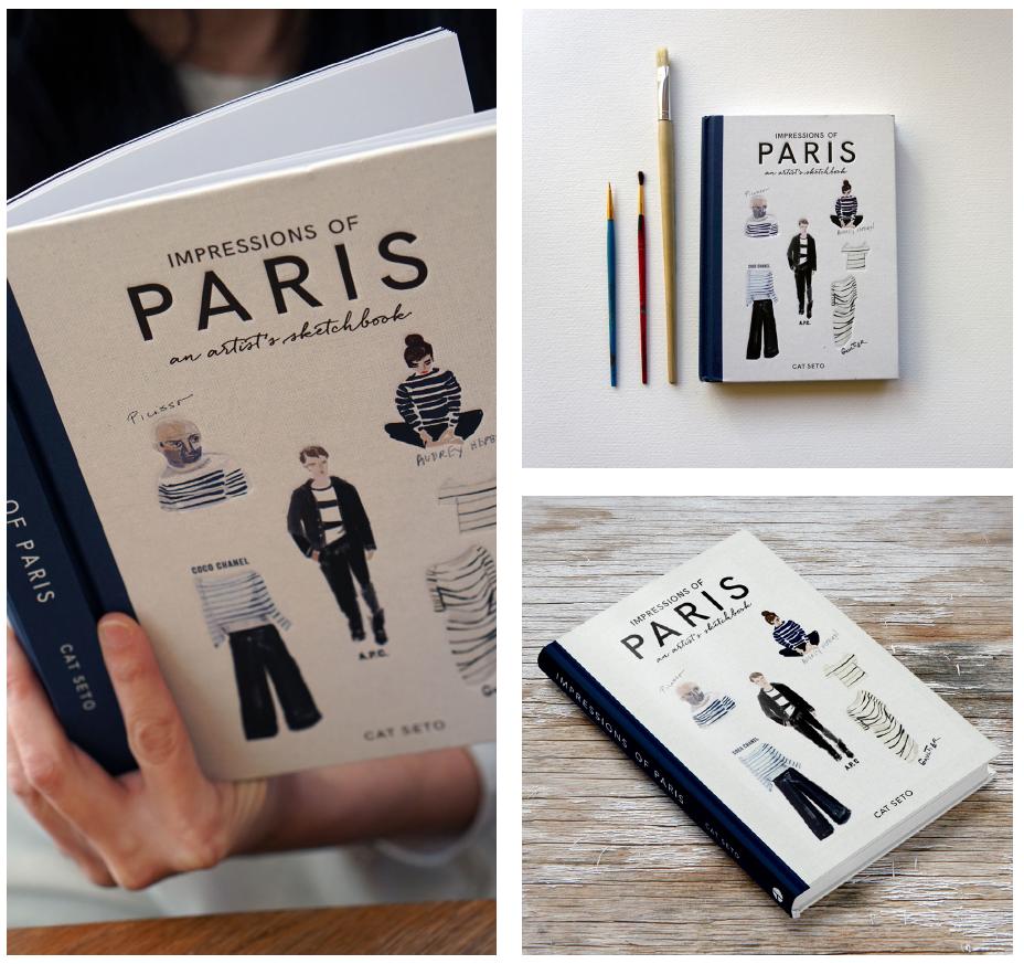 Impressions of Paris An Artists Sketchbook